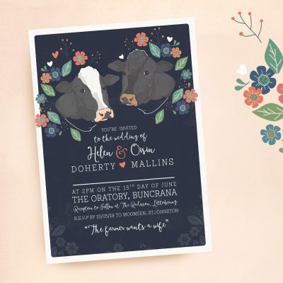 Fun Wedding Stationery Donegal- Ireland