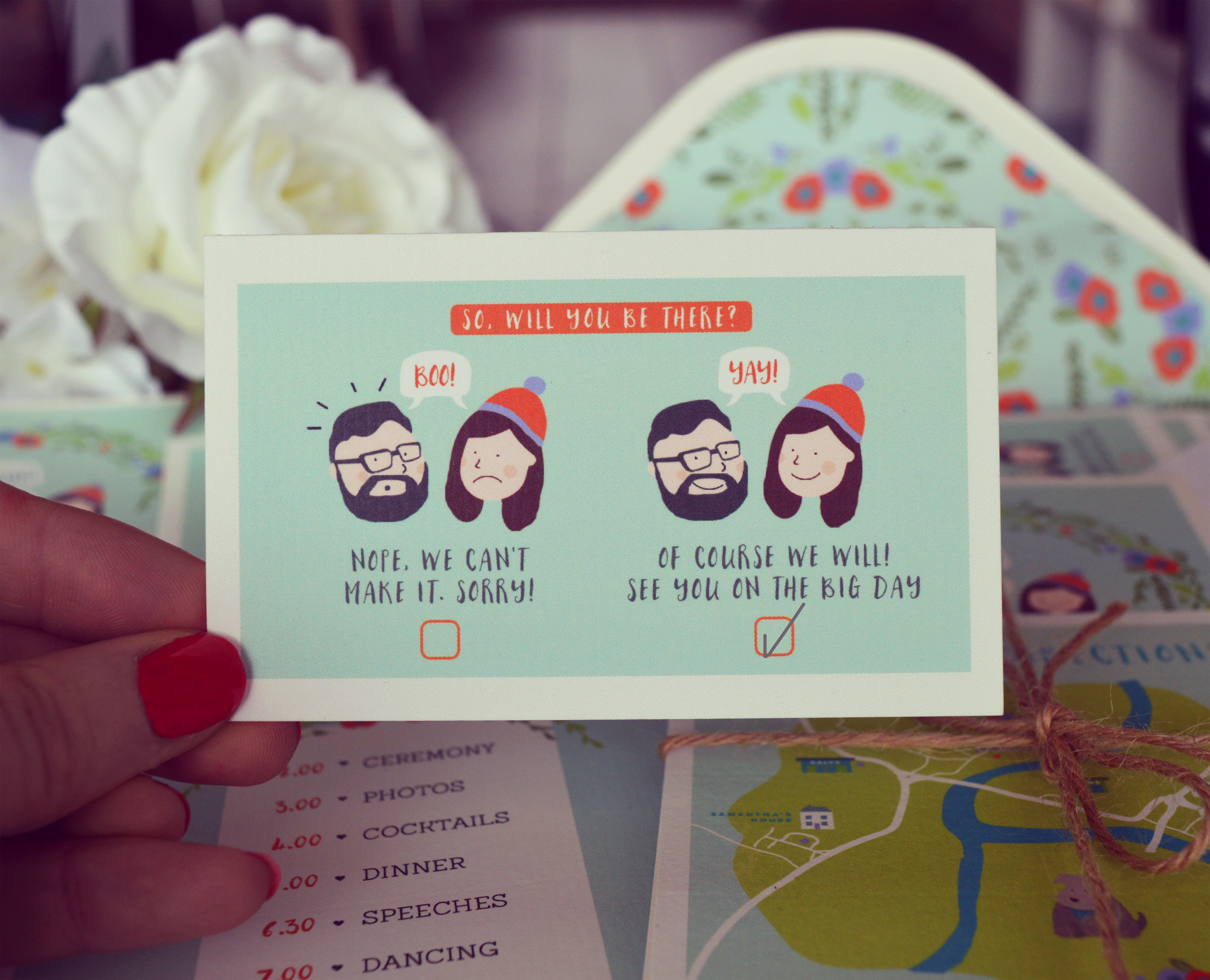 Quirky Wedding Stationery